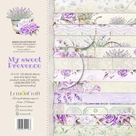 LC Zestaw papierów 30x30cm My sweet Provence