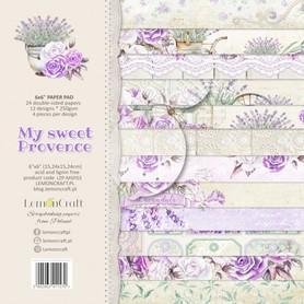 LC Zestaw papierów 15x15cm My sweet Provence