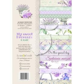LC Zestaw papierów bazowych A4 - My sweet Provence