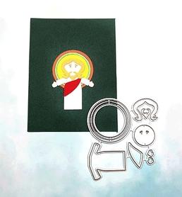 Wykrojnik do zrobienia Jezusa (2C13-R3)