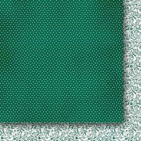 Arkusz 30x30cm - Szmaragdowa dama 04 #GP/SD04
