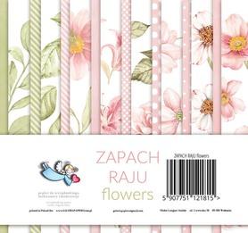 Zestaw papierów 15x15 Zapach raju flowers