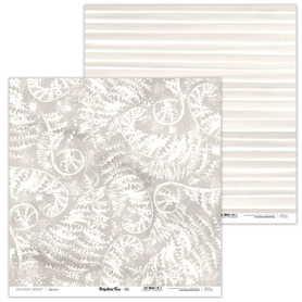 Arkusz papieru LL 30x30cm - Prehistoric Fern - 03