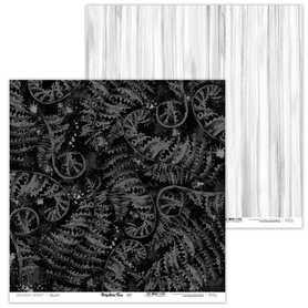 Arkusz papieru LL 30x30cm - Prehistoric Fern - 07