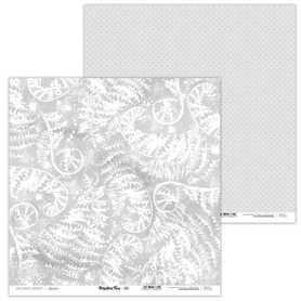 Arkusz papieru LL 30x30cm - Prehistoric Fern - 09