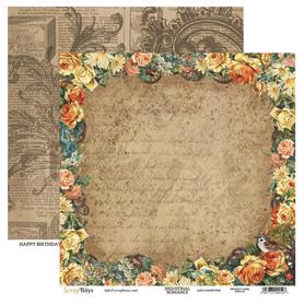 Arkusz papieru SB 30x30cm - Industrial Romance 2