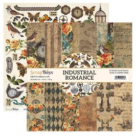 Zestaw papierów SB 30x30cm - Industrial Romance