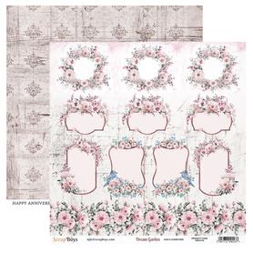 Arkusz papieru SB 30x30cm - Dream Garden 6