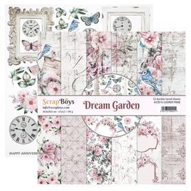 Zestaw papierów SB 30x30cm - Dream Garden