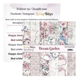 Zestaw papierów SB 15x15cm - Dream Garden