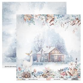 Arkusz papieru SB 30x30cm - Cotton Winter 1