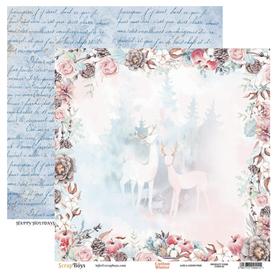 Arkusz papieru SB 30x30cm - Cotton Winter 2