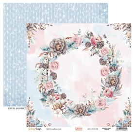 Arkusz papieru SB 30x30cm - Cotton Winter 3
