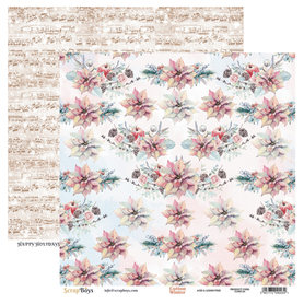 Arkusz papieru SB 30x30cm - Cotton Winter 4