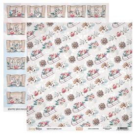 Arkusz papieru SB 30x30cm - Cotton Winter 5