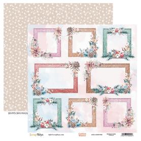 Arkusz papieru SB 30x30cm - Cotton Winter 6