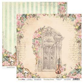 Arkusz papieru SB 30x30cm - Victorian Home 1