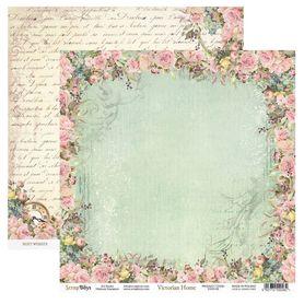 Arkusz papieru SB 30x30cm - Victorian Home 2
