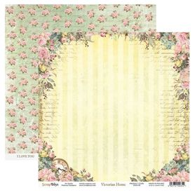 Arkusz papieru SB 30x30cm - Victorian Home 5