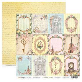 Arkusz papieru SB 30x30cm - Victorian Home 6