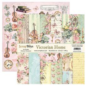 Zestaw papierów SB 30x30cm - Victorian Home