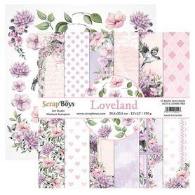 Zestaw papierów SB 30x30cm - Loveland