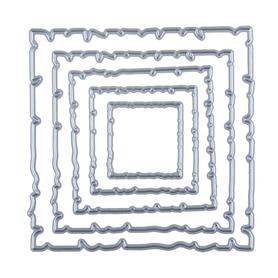 Wykrojnik - Ramki efekt starego papieru (3130-P4)