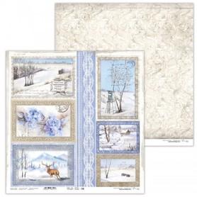 Arkusz papieru LL 30x30cm - Winter Tales 8