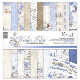 Zestaw papierów LL 30x30cm - Winter Tales