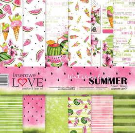 Zestaw papierów LL - 30x30cm Watermelon Summer