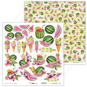 Arkusz papieru LL 30x30cm - Watermelon Summer - 03