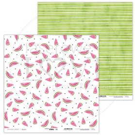 Arkusz papieru LL 30x30cm - Watermelon Summer - 04