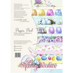 LC Zestaw papierów A4 - Spring Wishes