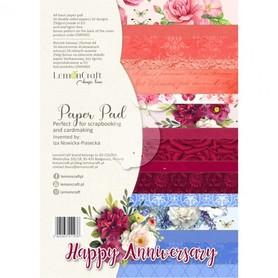 LC Zestaw papierów A4 - Happy Anniversary