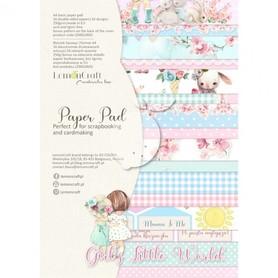 LC Zestaw papierów A4 - Girl's Little World