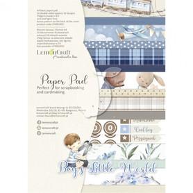 LC Zestaw papierów A4 - Boy's Little World
