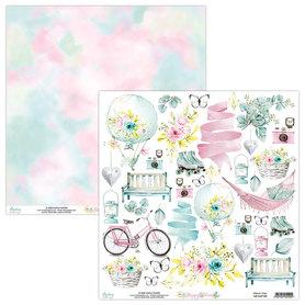 Papier MINTAY 30,5 cm x 30,5 cm - Happy Place 09