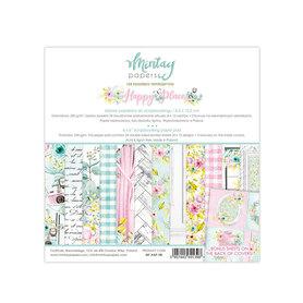 Zestaw papierów 15x15 - Mintay - Happy Place