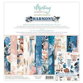 Zestaw papierów 30x30 - Mintay - Harmony