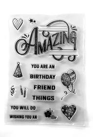 Stemple silikonowe Amazing Birthday