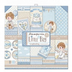 Zestaw papierów 30x30 - Stamperia -  Little Boy