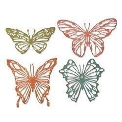 Wykrojnik Sizzix - Scribbly Butterflies 664409