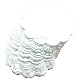 Serwetki #2 - 5,5cm - białe - zestaw 50szt