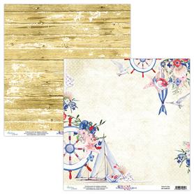 Papier MINTAY 30,5 cm x 30,5 cm Marina 01