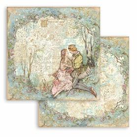 Arkusz 30x30 Stamperia Sleeping Beauty Lovers (SBB795)
