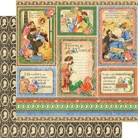 (4501653) Arkusz papieru Graphic 45 - 30x30cm