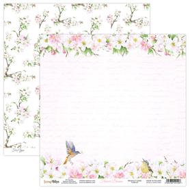 Arkusz papieru SB 30x30cm - Flower Dreams 01