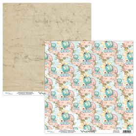Papier MINTAY 30,5 cm x 30,5 cm - Wanderlust 05