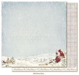 Arkusz 30x30 cm Joyous Winterdays - Santa Claus