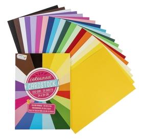 Zestaw 25 arkuszy kolorowych 220g CR0188/20GE
